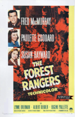 The Forest Rangers 1942 DVD - Fred MacMurray / Paulette Goddard
